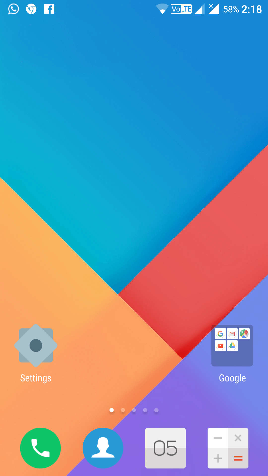 Download MIUI 9 Launcher apk on any Android with Wallpaper