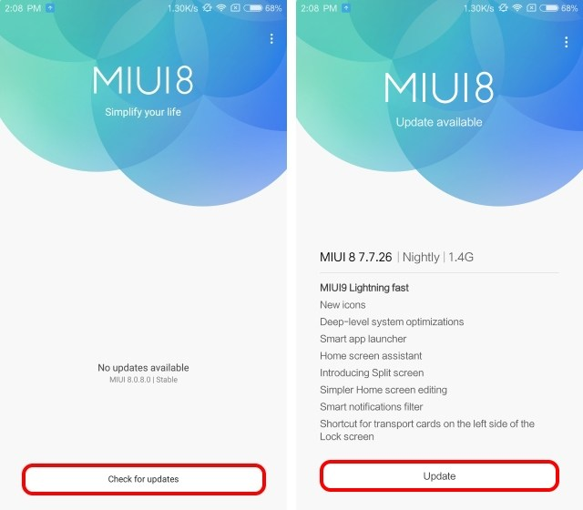 Download MIUI 9 ROM on any Xiaomi(Redmi Note4/Note3,Mi 6/5/4