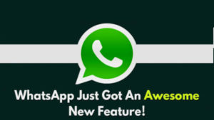 An Amazing Extraordinary Feature is added to WhatsApp(Wanna try it?)