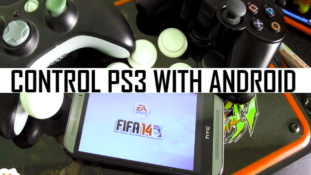 Control PS3 with Android using Playstation 3 Controller App
