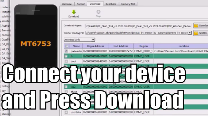 SP Flash Tool Download(Smartphone Flash Tool)-V3,V5 All Versions