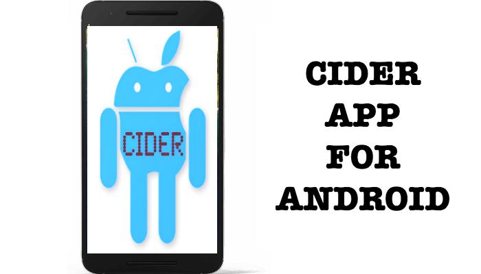 project cider скачать на андроид